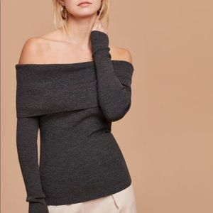 Aritzia Wilfred Croquis Sweater Small
